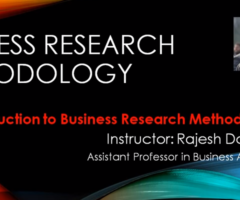 Chapter-1: Introduction to Business Research Methodology