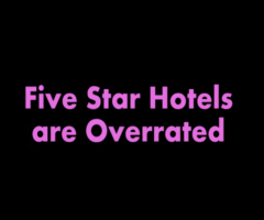 5 Stars Hotels are Overrated | Stand Up Comedy by Raghav Mandava