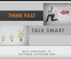 Think Fast, Talk Smart: Communication Techniques