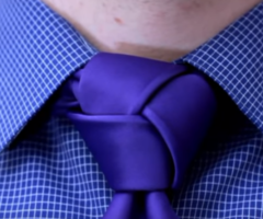 How to tie a tie – Trinity Knot (Made Simple)