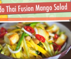 THAI MANGO SALAD | Indian Twist | RecipesAreSimple