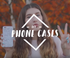 7 Easy DIY Phone Cases!