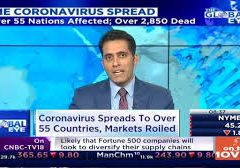 Coronavirus Continue To Spread, Stock Market Shivers Accross The World | The Global Eye