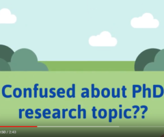 How to select PhD topic? – Chanakya-Research