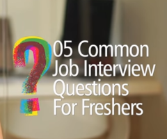 Job Interview Question & Answers for freshers – Free Job Interview tips & English Lessons