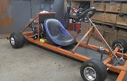 Making a Motorised Go Cart with NO WELDER and simple tools #1 – Chassis/Engine