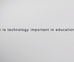 why is technology important in education?
