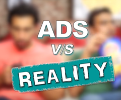 Indian Ads versus Reality feat. Ramona Arena