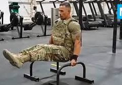 STRONGEST Soldier in Army Gym – Diamond Ott | Muscle Madness