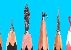 IMPRESSIVE ART ON THE TIP OF A PENCIL